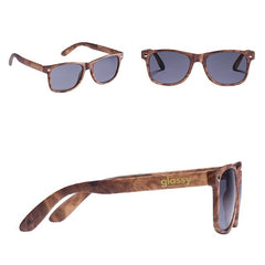 Glassy Leonard Sunglasses - Wood