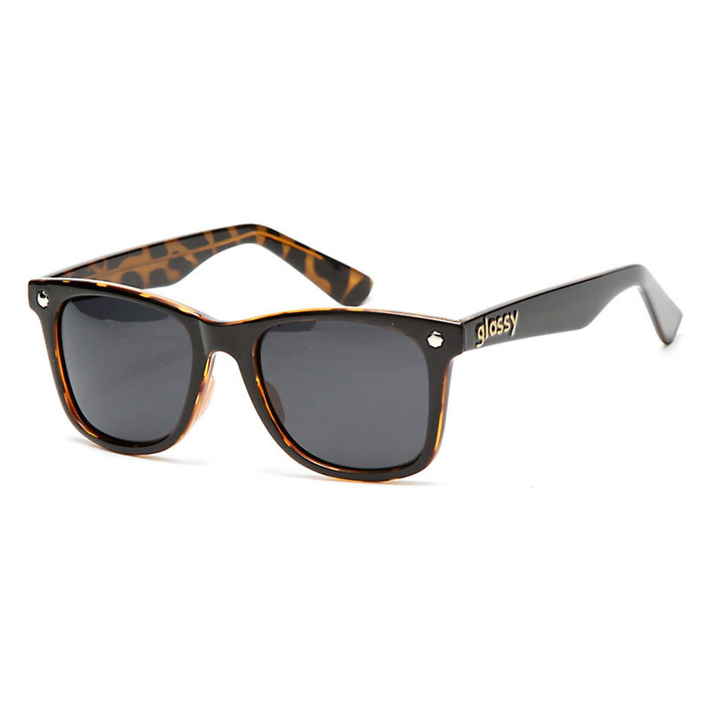Glassy MikeMo Signature Polarized Sunglasses - Black/Tortoise