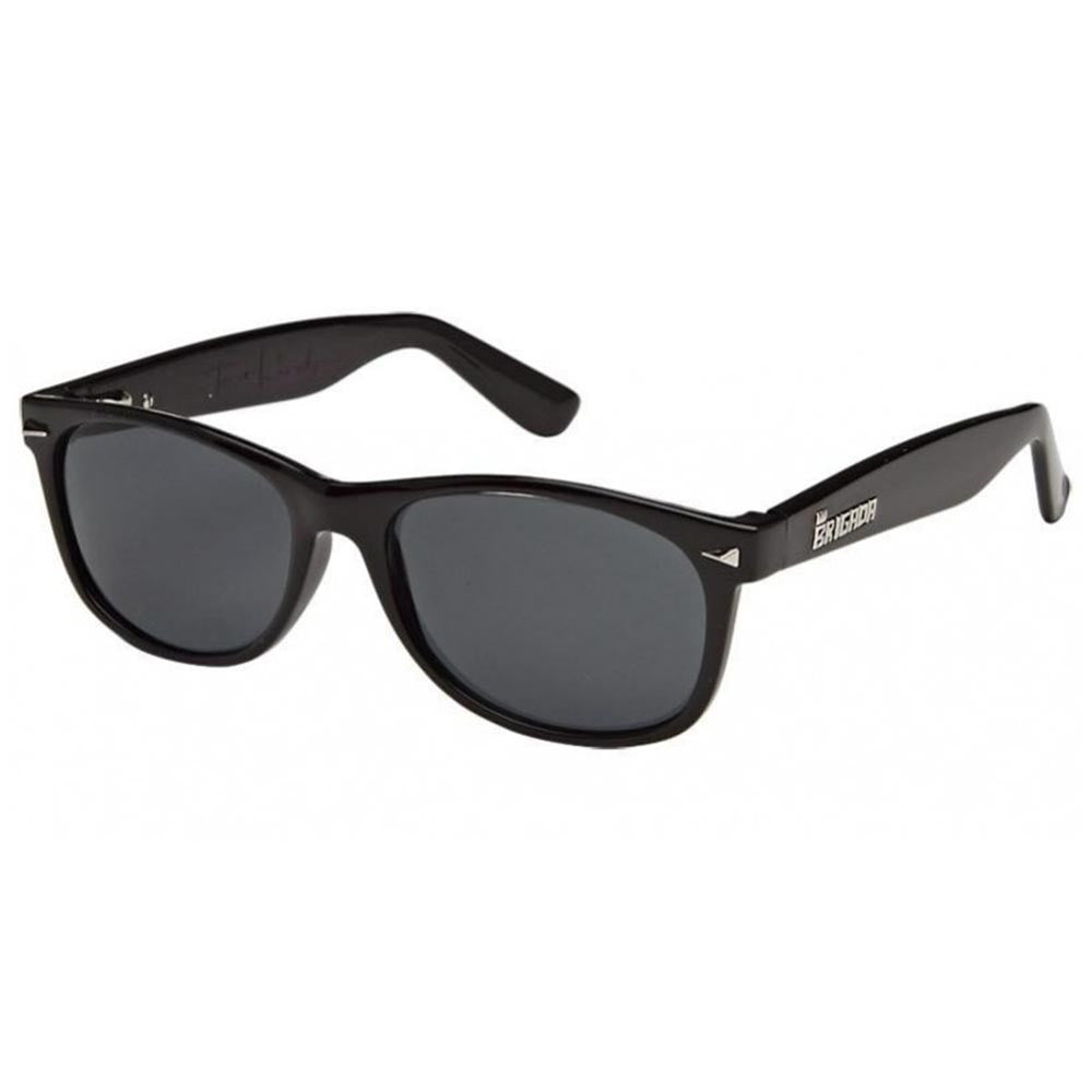 Brigada Terry Kennedy Warrant Sunglasses - Black w/ Smoke Lens