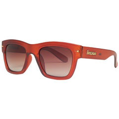 Brigada Big Shot Sunglasses - Root Beer w/ Brown Fade Polarized Lens