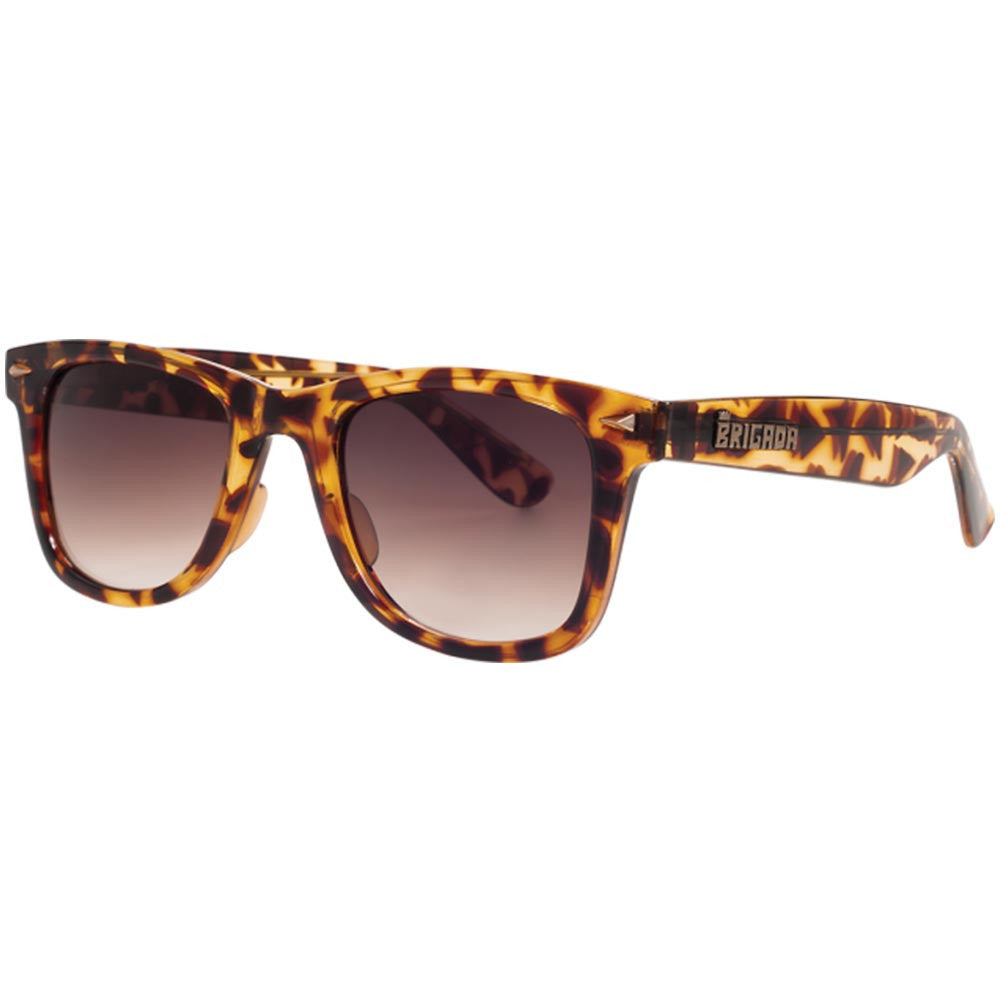 Brigada Paul Rodriguez Renegade Sunglasses - Tortoise w/ Brown Fade Lens