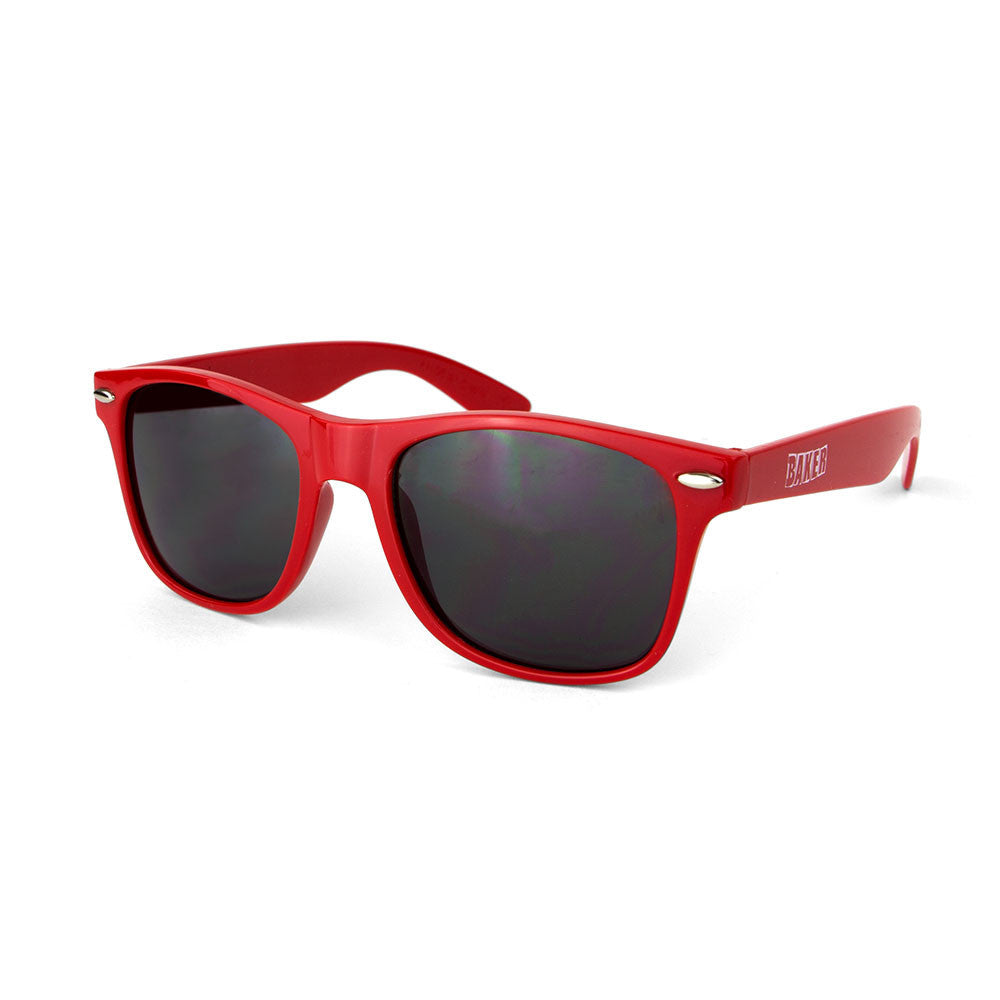 Baker Brand Logo Sunglasses - Red/White