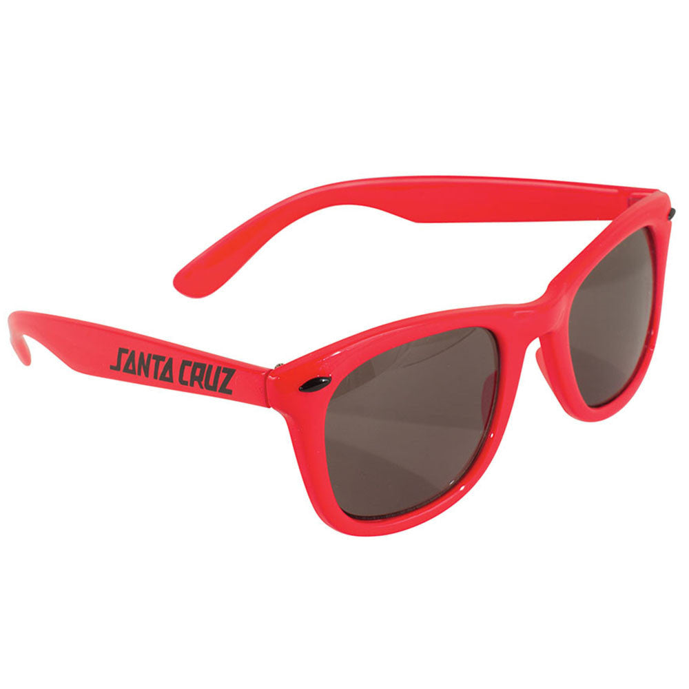 Santa Cruz Strip Shades O/S Sunglasses - Red