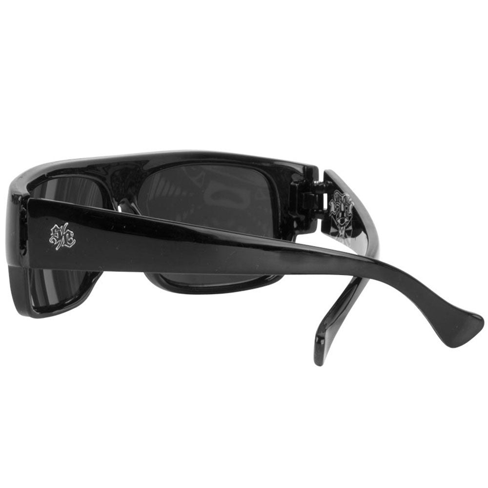 Santa Cruz Cholo O/S Sunglasses - Gloss Black
