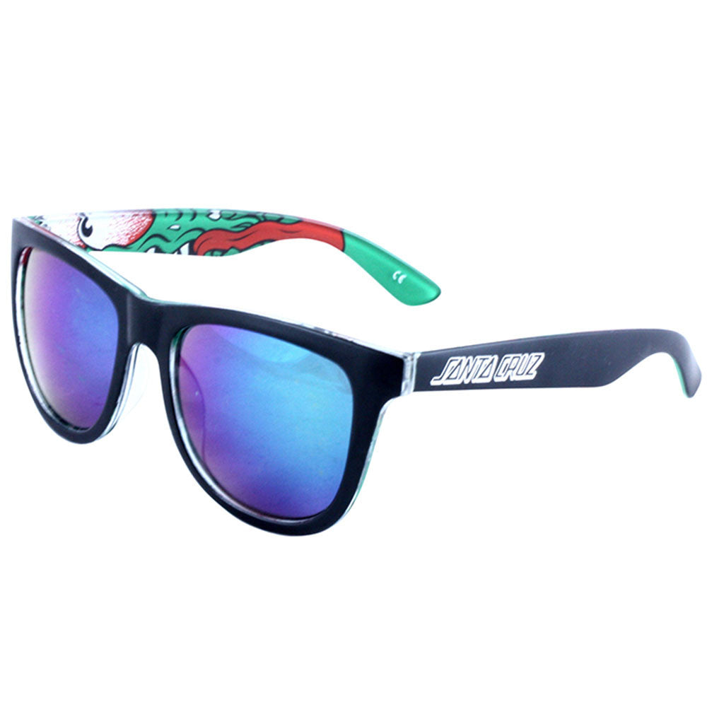 Santa Cruz Slasher Insider O/S Sunglasses - Black/Green