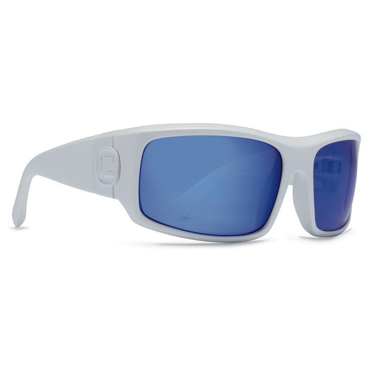 Von Zipper Kickstand Sunglasses - White Satin Frame/Astro Chrome Lens