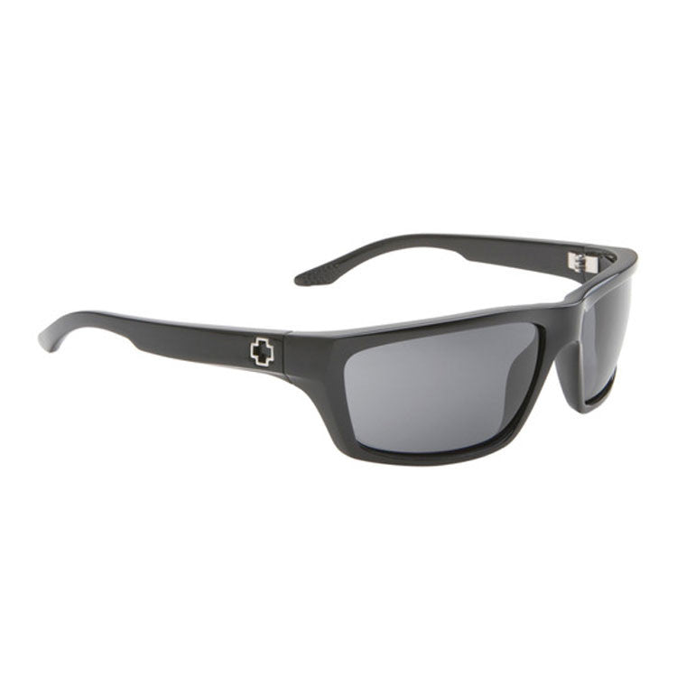 Spy Kash Sunglasses - Black Frame - Grey Lens