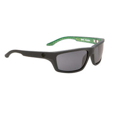 Spy Kash Sunglasses - RSD Matte Black Frame - Green/Grey Lens