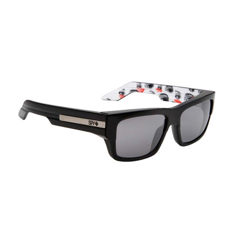 Spy Tice Men's Sunglasses - Private Eyes Frame - Grey/Silver Mirror Lens