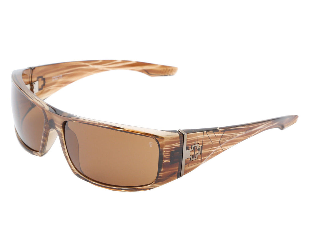 063e18110a Spy Cooper XL Sunglasses - Brown Stripe Tortoise Frame - Bronze Polarized  Lens. Enlarge Image