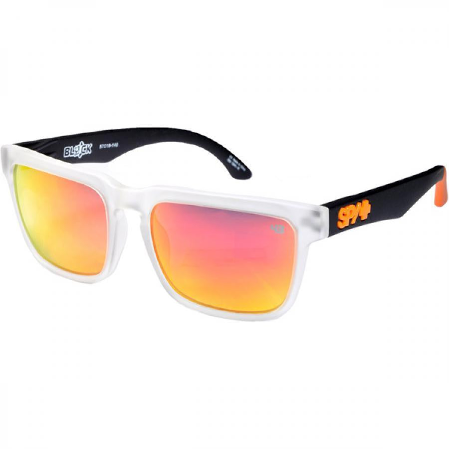 Spy Helm Sunglasses - Cult Grey Frame - Red Spectra Lens