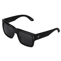 Spy Bowery Sunglasses - Black/Injected/Grey - Smoke Lens