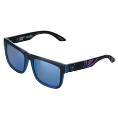 Spy Discord Square Livery Sunglasses - Black - Happy Bronze/Light Blue Lens