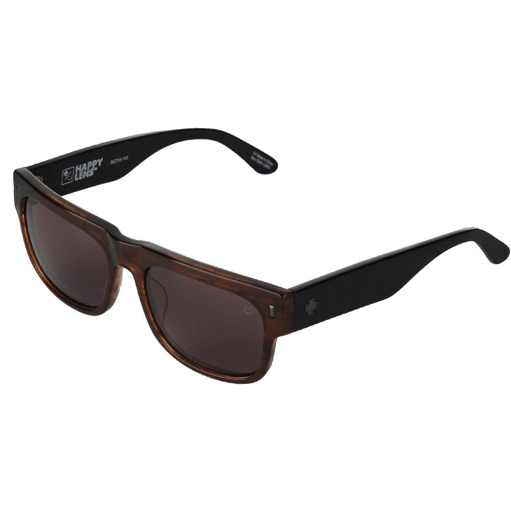 Spy Hennepin Sunglasses - Sepia/Black - Happy Bronze Lens