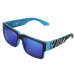 Spy Cyrus Ken Block Livery Series Sunglasses - Black/Blue - Happy Bronze/Dark Blue Spectra Lens