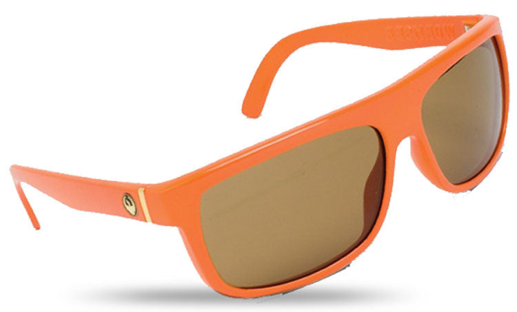 Dragon Wormser Sunglasses - Tang Frame/Bronze Lens
