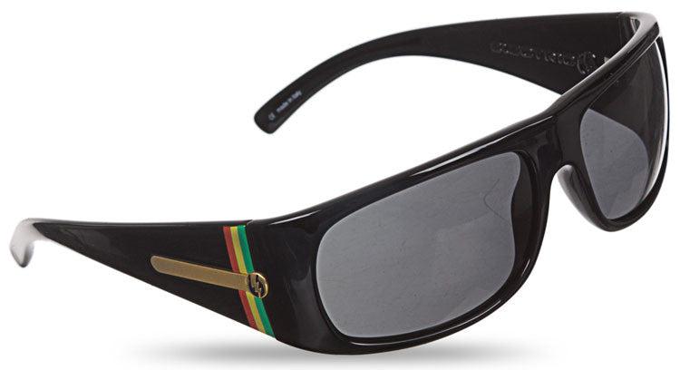 Electric G-Six Sunglasses - Black Tweed Frame/Grey Lens