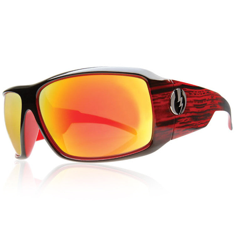 Electric KB1 Sunglasses - Rowdy Frame/Bronze Red Chrome Lens