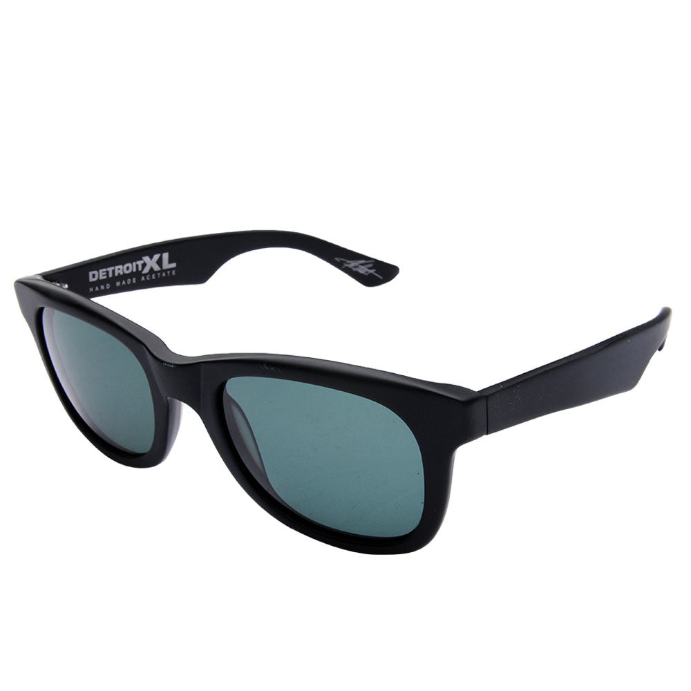 Electric Visual Detroit Xl Mens Sunglasses Black Skateamerica