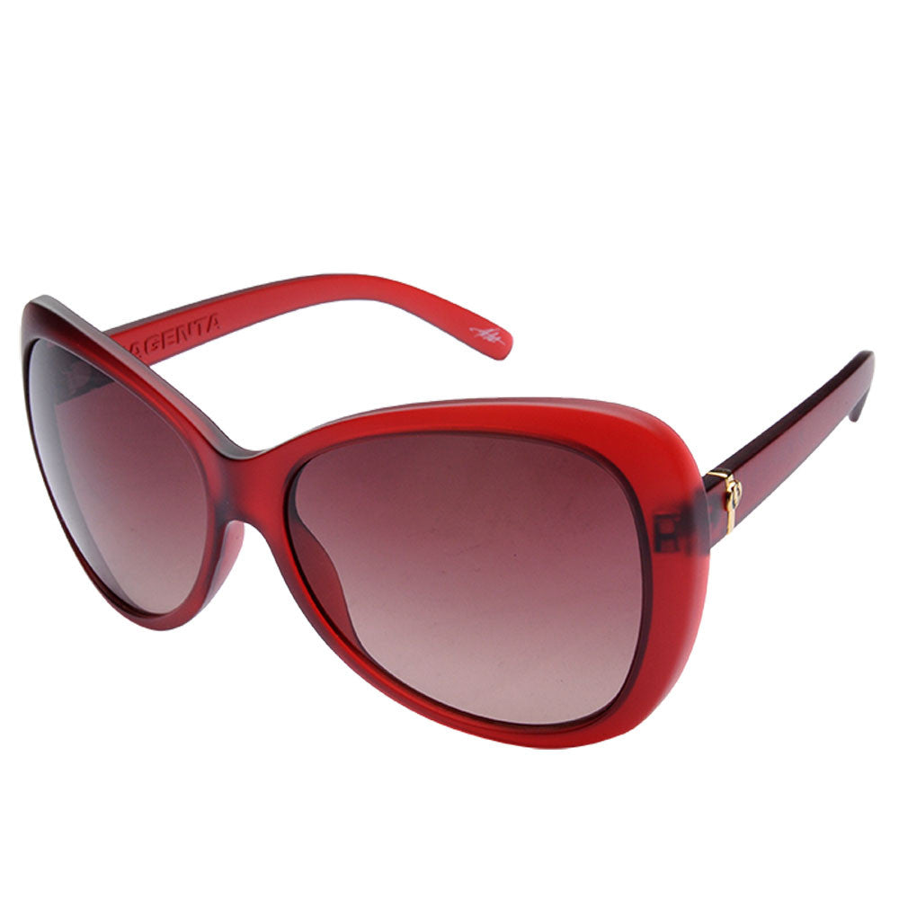 Electric Visual Magenta Womens Sunglasses - Red