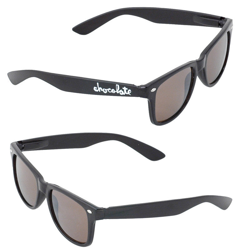 Chocolate Chunk Basic Sunglasses - Black