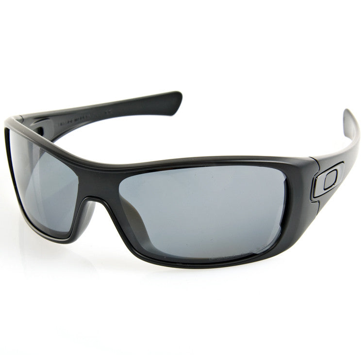 Oakley Antix Polarized Sunglasses - Matte Black Frame/Grey Lens
