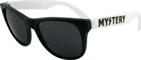 Mystery Logo Sunglasses - White