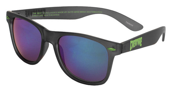 Creature Trannies Translucent Sunglasses - OS Unisex - Black