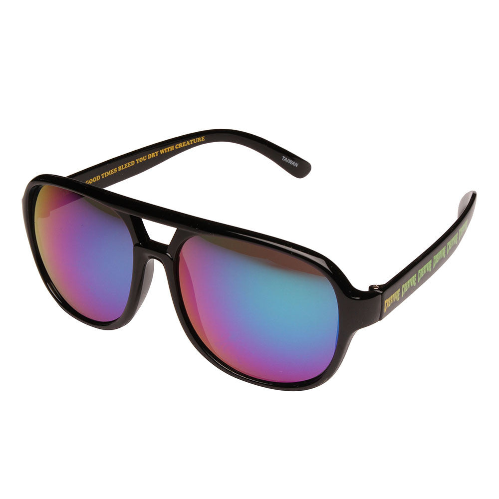 Creature Cabanaz Creeper Sunglasses - OS Unisex - Black