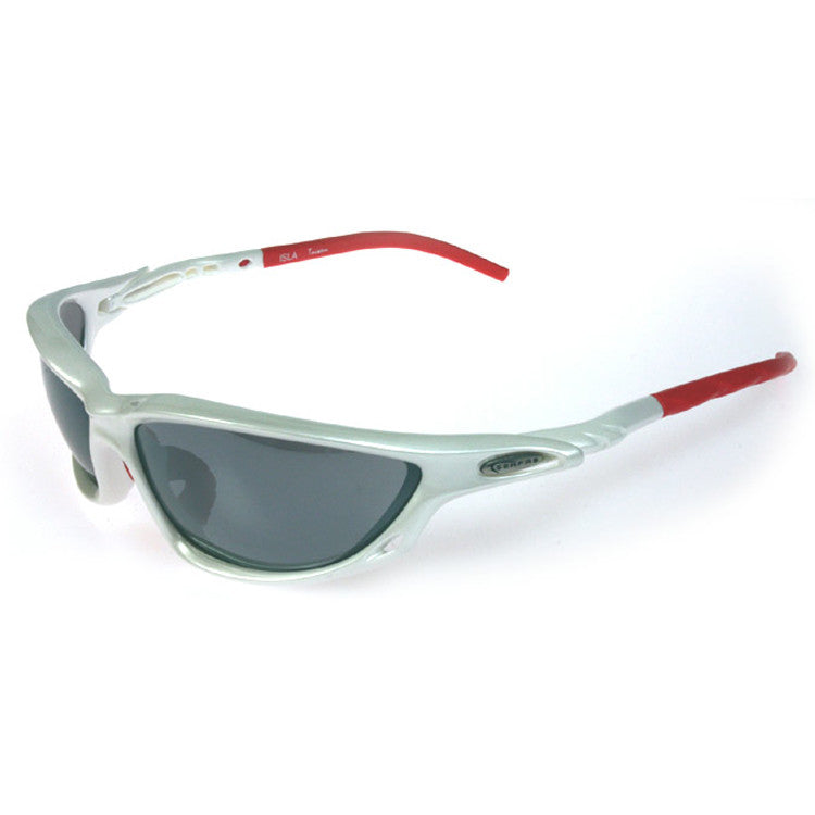 Serfas Isla Sunglasses - White/Red