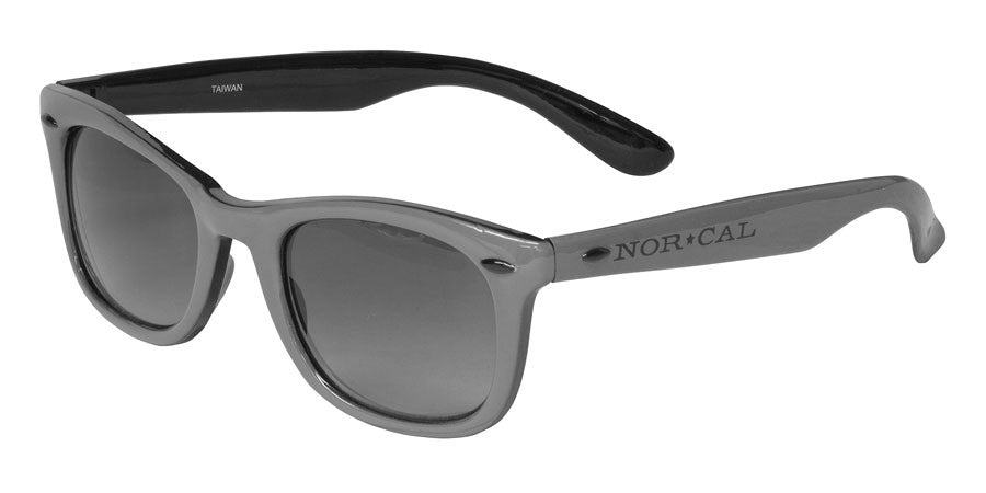 Nor Cal Risky Biz Sunglasses - Grey/Black OS
