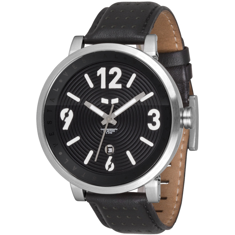Vestal Doppler Slim Mens Watch - Black