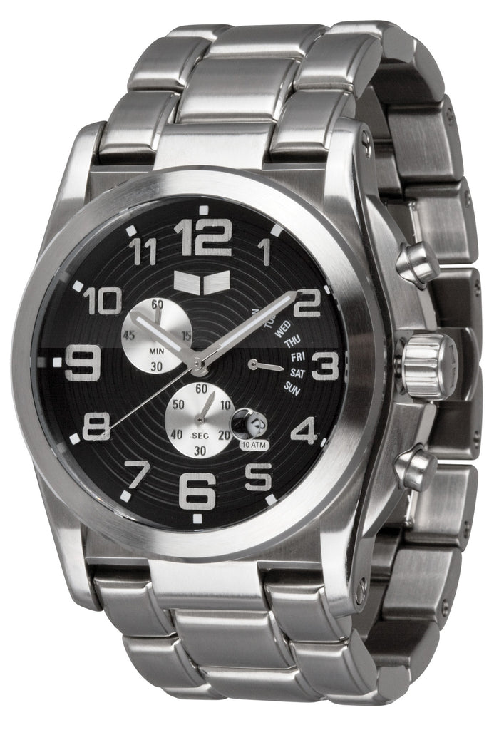 Vestal De Novo Mens Watch - Silver