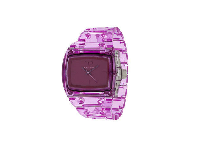 Vestal Destroyer Plastic Mens Watch - Purple