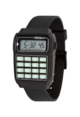Vestal Datamat Mens Watch - Black