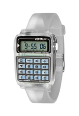 Vestal Datamat Mens Watch - Clear