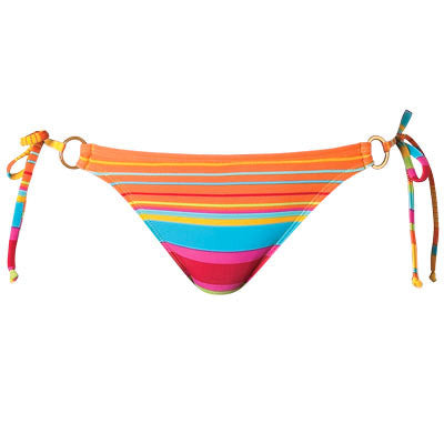 Roxy String Bikini Hibiscus Women's Swimwear - Large