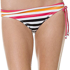 Hurley Beckham Stripe Hipster Bottom Women's Swimwear - Medium