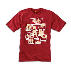 Enjoi Beauty Shots PG S/S - Cardinal - Men's T-Shirt
