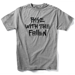 Fallen Rise With The Fallen S/S Men's T-Shirt - Heather Grey