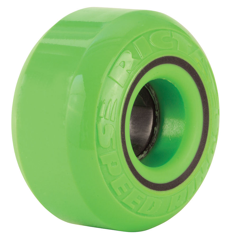 Ricta Speedrings Skateboard Wheels 54mm 81b - Green/Black (Set of 4)