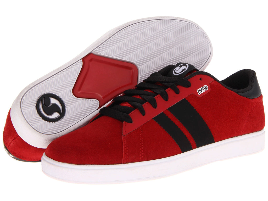 DVS Halsted - Red Suede 600 - Men's Shoes