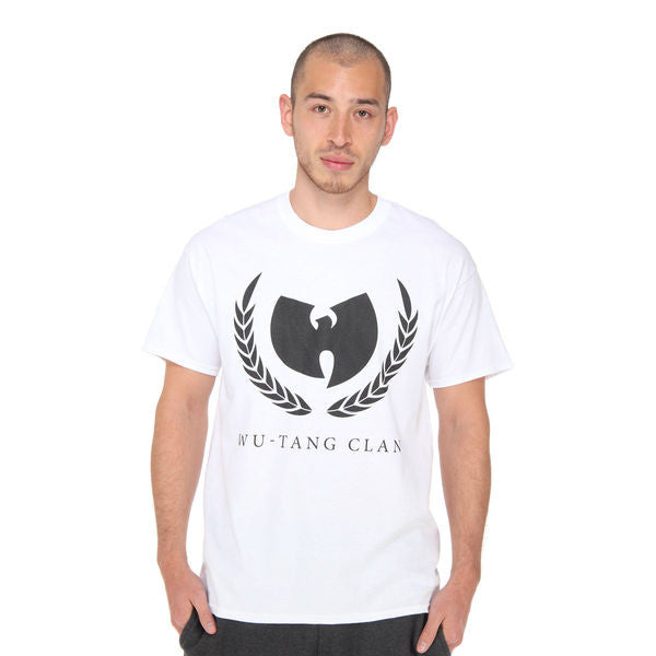 Wu-Tang Band Olive Branch T-Shirt - White
