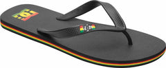 DC Spray Men's Sandals - Rasta