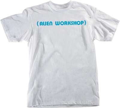 Alien Workshop Parenthesis Short Sleeve Men's T-Shirt - White - Small