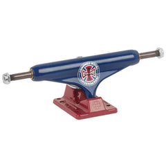 Independent 129 Stage 11 Grant Taylor BTG GC Hollow Skateboard Trucks - 127mm - Blue/Red (Set of 2)