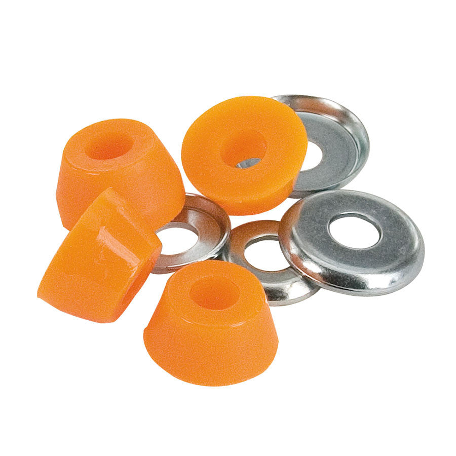 Independent Genuine Parts Low Cushions Skateboard Bushings - Medium 94a - Orange (4 PC)