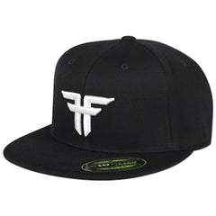 Fallen Trademark 210 Flex Fit Men's Hat - Black/White II