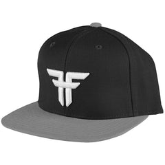 Fallen Trademark Snapback Men's Hat - Black/Grey