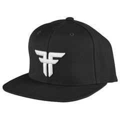 Fallen Trademark Snapback Men's Hat - Black/White